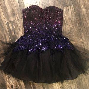Sparkle Glamour Witch Dress